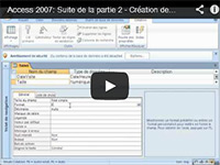 Access 2007 Suite de la Partie 2